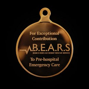 BEARS Presidential Award Medals for exceptional contribution - 5 star review of product given and said 'Will definitely use Medals UK again'