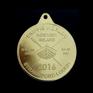 38mm Silver Minted Bright Skiffleworlds Winners Medals Obverse