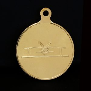 silver & bronze British Aerobatics Association Sports Medals produced by Medals UK