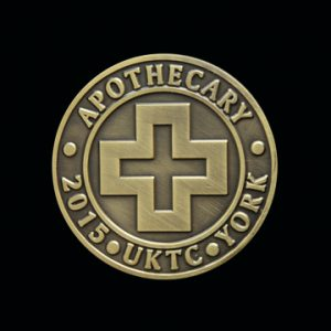 Apothecary 2015 Commemorative Coin - Commemorative sports coin for UKTC - by Medals UK