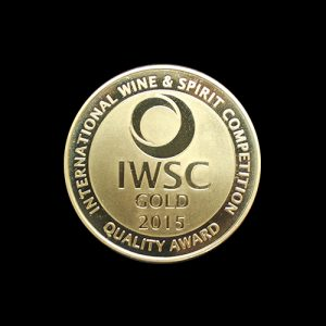 IWSC Competition 2015 medal - 50mm gold minted awards medal - by Medals UK for the International Wine & Spirits Competition