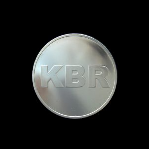 KBR Commemorative Coin - 38mm Silver Minted - by Medals UK