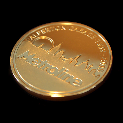 The Metroline Commemorative Coin was awarded to the best London Garage