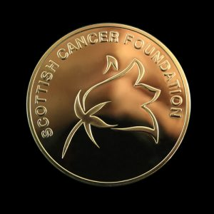 Scottish Cancer Foundation Prize and Evans Forrest Medal - Inaugural Commemorative Awards Medal marking annual prize