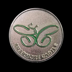 Smarmore Castle Commemorative Coin - Featuring One Day At A Time Message for residents and patients to aid recovery