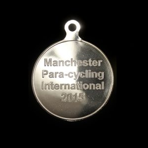 Para Cycling International Custom Made Sports Medal - 50mm